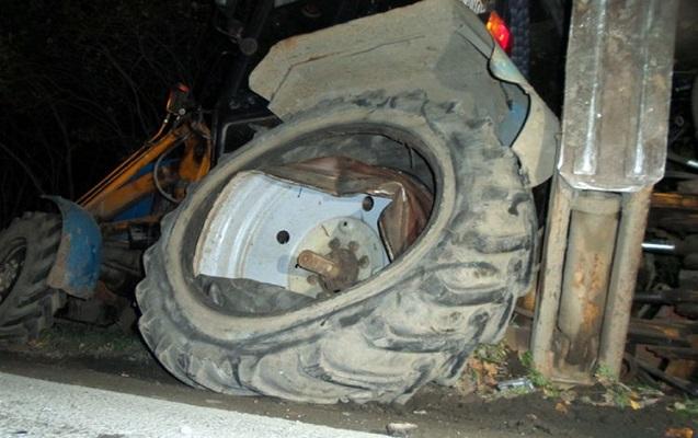 56 yaşlı kişi traktorun altında qalaraq öldü