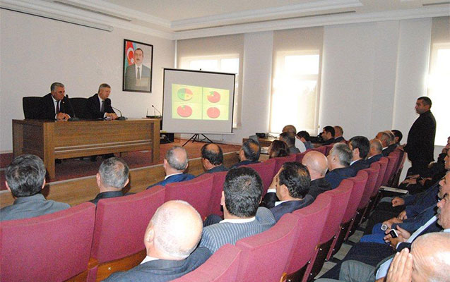 Komitə Biləsuvarda forum keçirdi