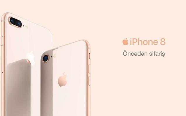 """Azercell-dən """"Hədsiz"""" İnternetlə və ilkin ödənişsiz iPhone8 əldə et!"""