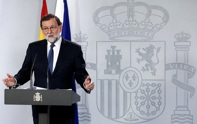 Kataloniya rəhbərliyi işdən çıxarıldı