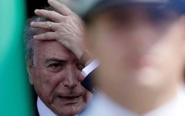 Braziliya prezidenti xəstəxanaya yerləşdirilib