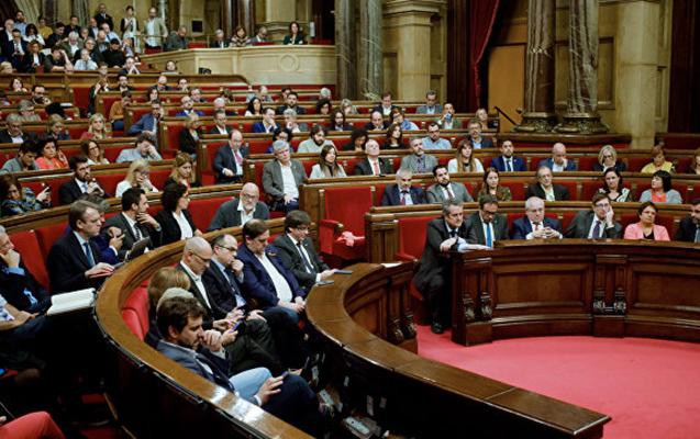 Kataloniya parlamenti müstəqilliyini elan etdi