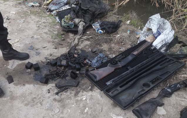 Sumqayıtda külli miqdarda silah-sursat aşkarlandı