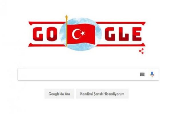 """""""Google"""" Türkiyə üçün xüsusi loqo hazırladı"""