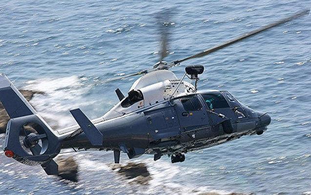 Norveçdə dənizə düşən helikopter tapıldı