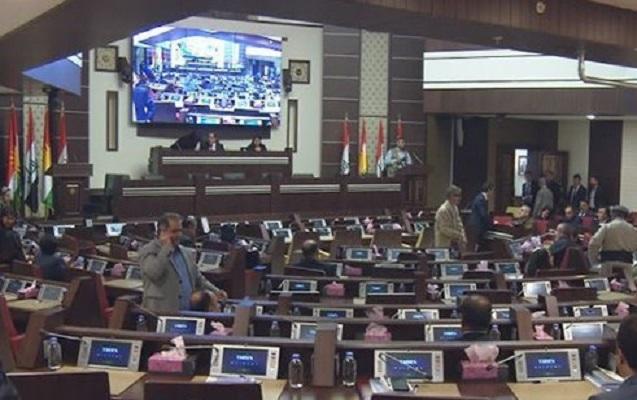 İKBR parlamentində atışma olub