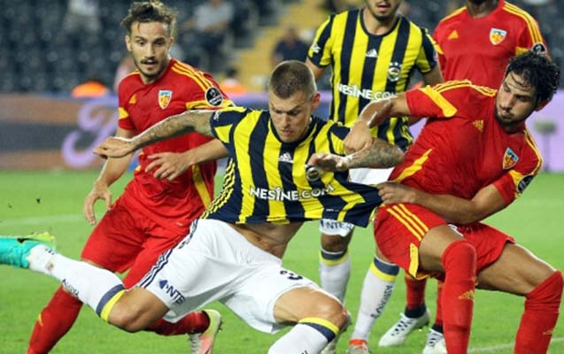"""""""Fənərbaxça""""-""""Kayserispor"""" oyununda 6 qol"""