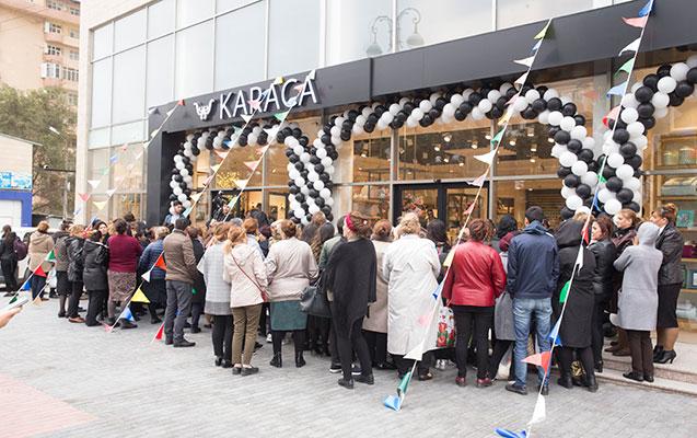 Qafqazda ən böyük qab-qacaq mağazası açıldı