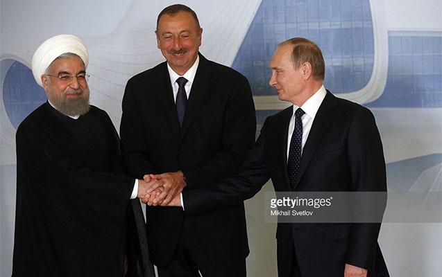 Əliyev, Putin və Ruhani...