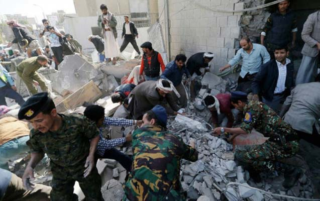Koalisiya Yəməni bombaladı, 27 ölü