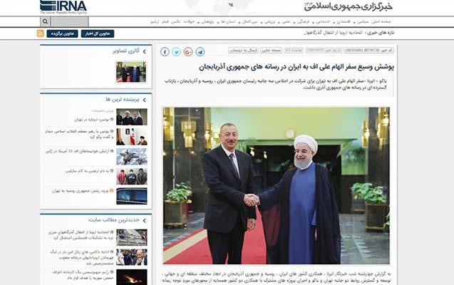 İran mətbuatı prezidentin səfərindən yazıb