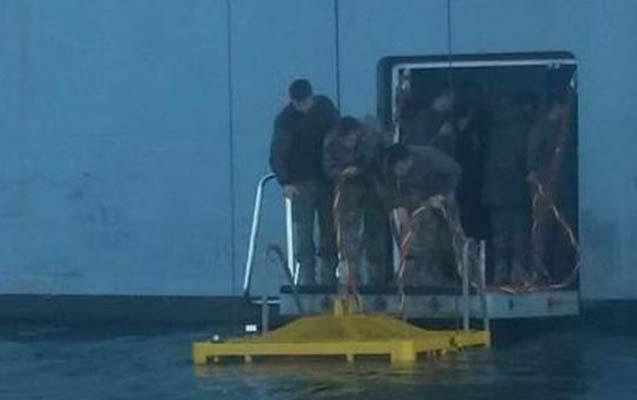 Türkiyədə batan gəminin kapitanı harda olub?