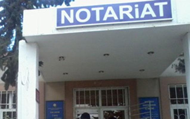 Notariuslarla bağlı yenilik