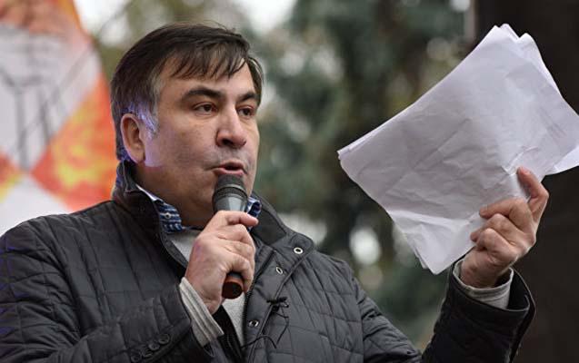 Saakaşvili axşam çevriliş planını açıqlayacaq
