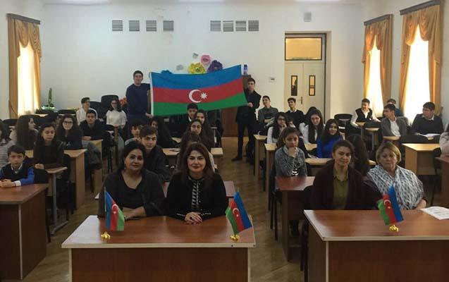 Dövlət Bayrağı gününə həsr olunan tədbir keçirilib