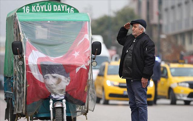 Türkiyə Atatürkü anır