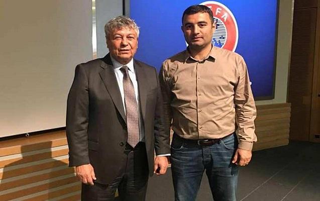 """""""Qarabağ""""ın məşqçisi Luçesku ilə görüşdü"""