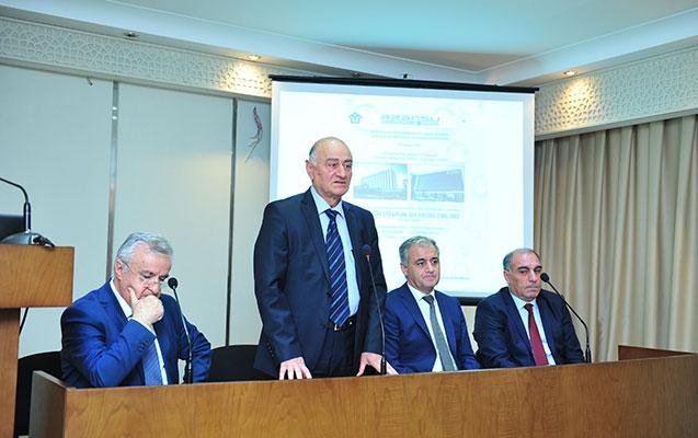 """AzMİU-da """"Müasir dövrün su problemləri"""" adlı elmi konfrans keçirilib"""