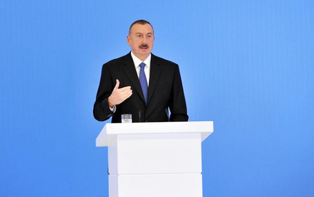 """""""... Ölkəmizi kütləvi rüşvətxorluq bürümüşdü"""" - Prezident"""