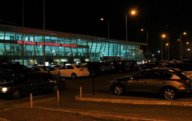 Tbilisidə hava limanı boşaldıldı