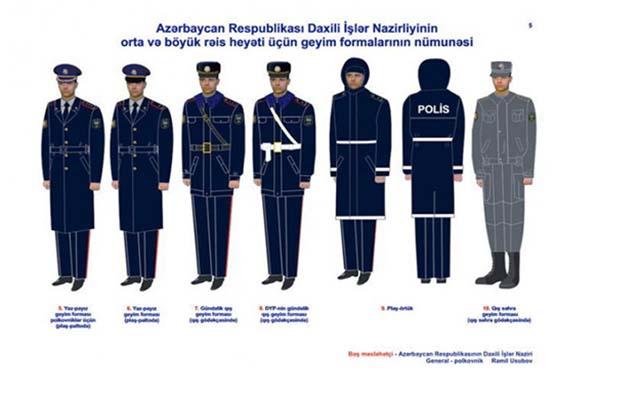 Azərbaycan polisi qış geyiminə keçdi