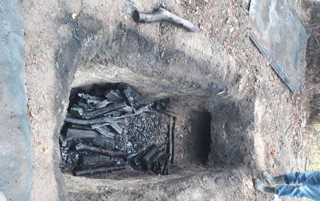 Qanunsuz kömür hazırlayanlara qarşı reyd