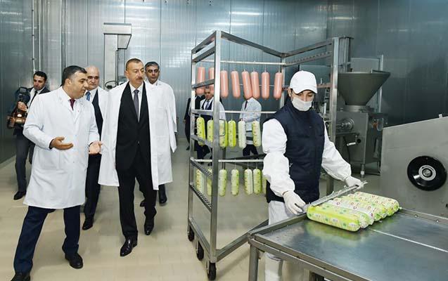 Prezident açılışlarda iştirak etdi -