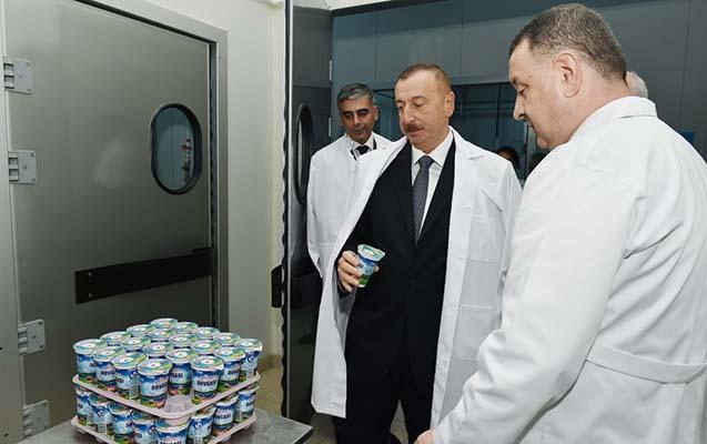 """Prezident """"Zəhmət-Ruzi"""" MMC-də"""