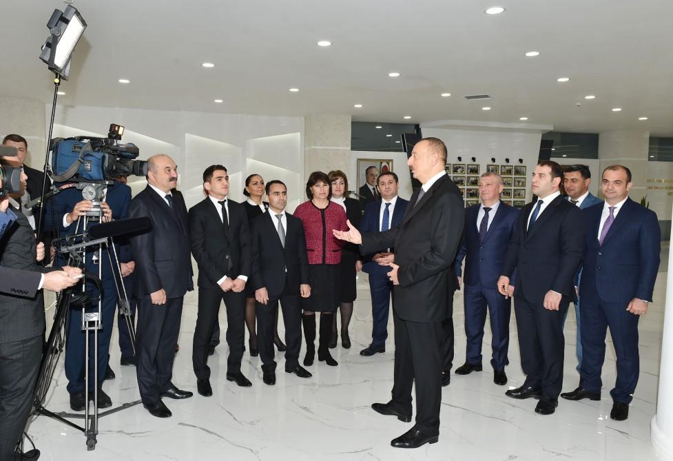 Prezident Məhəmmədrəsul və Hacı ilə görüşdü - Fotolar