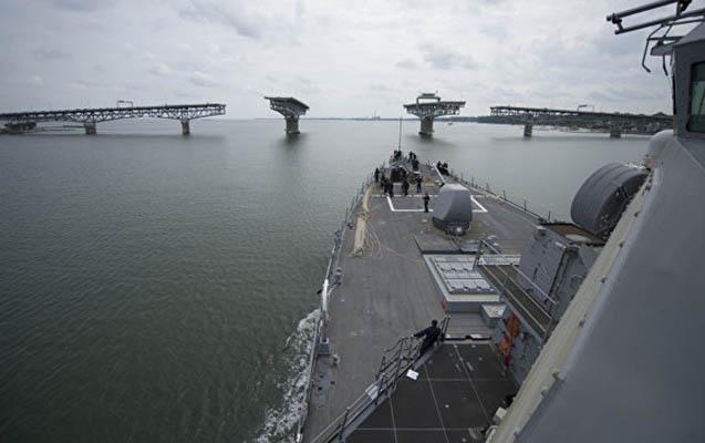 Yaponiya və ABŞ hərbi gəmiləri toqquşub