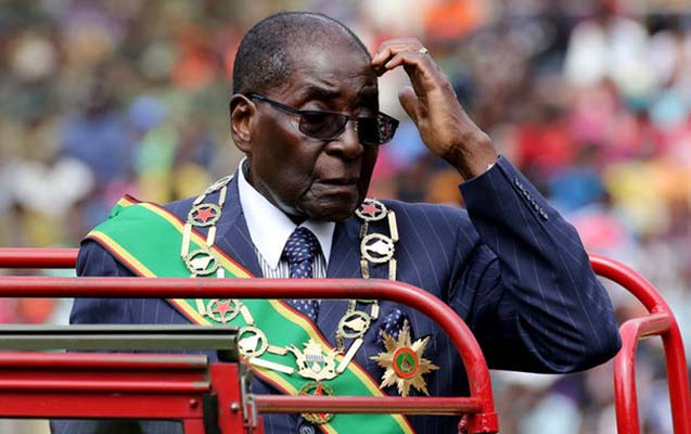 Zimbabve prezidenti aclığa başladı