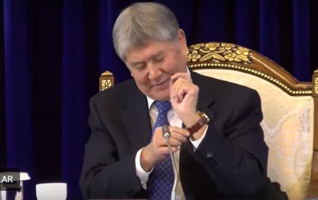 """""""Yuxuda görmüşəm"""" deyib prezidentin saatını aldı"""