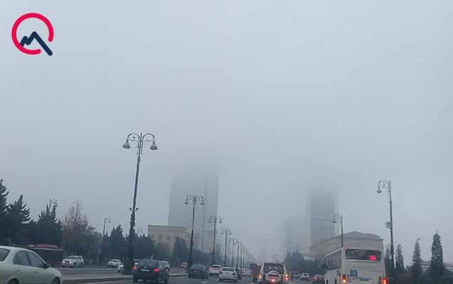 Bakıdakı toz dumanı ilə bağlı açıqlama