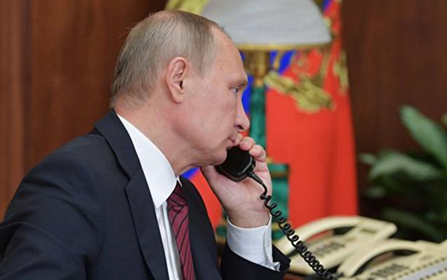 Putinlə Tramp telefonda danışacaqlar