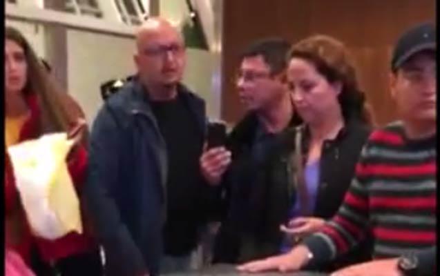 Gömrükçülər azyaşlı qızı aeroportda itlə yoxlayıb?