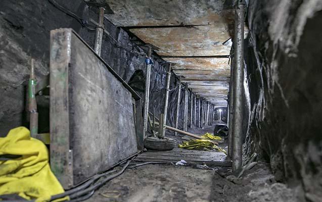 Bank yarmaq üçün 6 ay tunel qazdılar