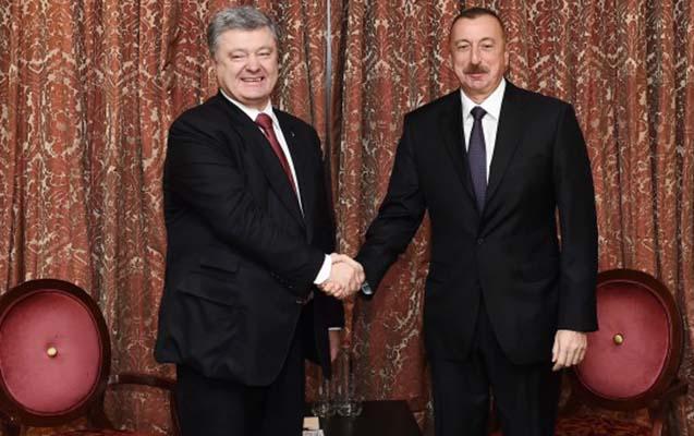 Prezident Poroşenko ilə görüşdü