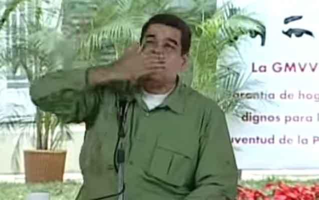 Prezident Maduro ad günündə belə əyləndi