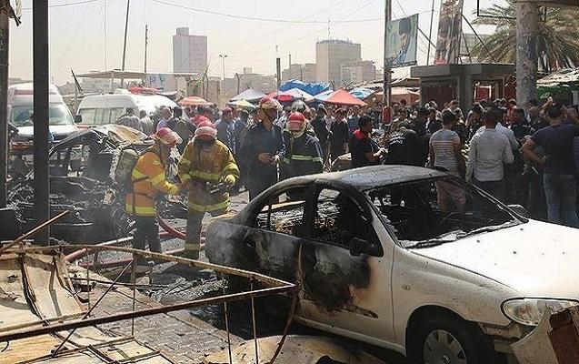 İki kamikadze özünü partlatdı - 11 nəfər öldü