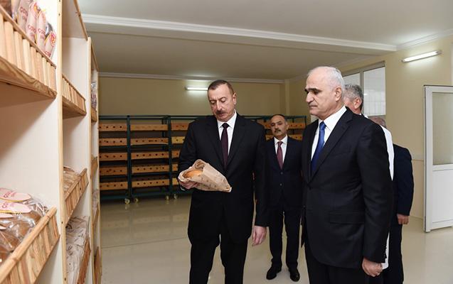 """Prezident """"Ağcabədi çörəyi""""nə baxdı"""