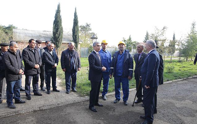 Heydər Əliyev Fondunun nümayəndələri Cəlilabadda -