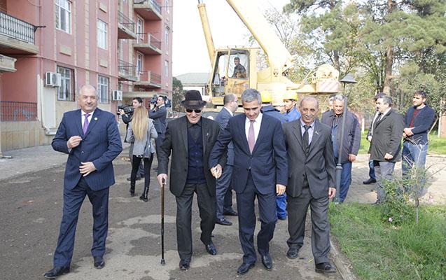 Heydər Əliyev Fondunun nümayəndələri Cəlilabadda