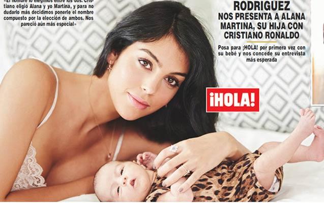 Ronaldonun sevgilisi ilə qızının yeni