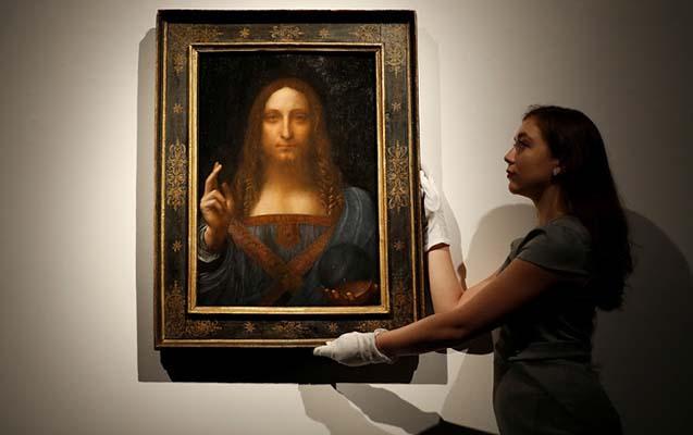 Da Vinçinin 450 milyonluq əsərini kimin aldığı bilindi
