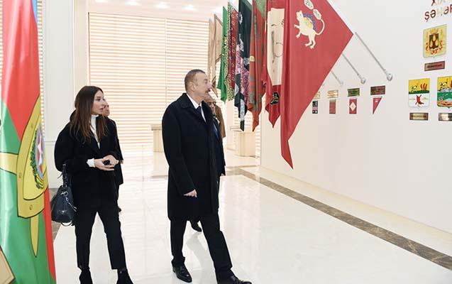 Qubada Bayraq Muzeyi açıldı