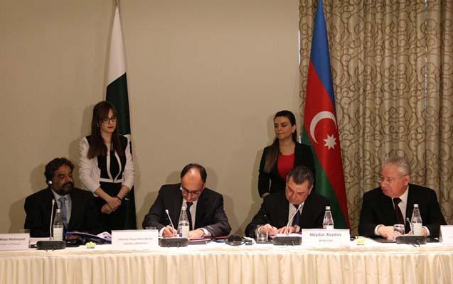 Azərbaycanla Pakistan arasında protokol imzalandı
