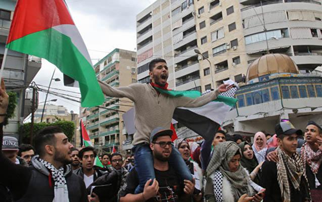 İsrail ordusu ilə fələstinlilər arasında toqquşma