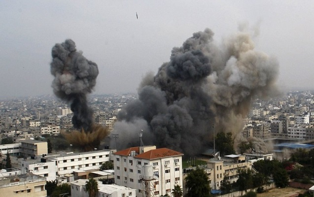 İsrail Qəzzanı bombaladı