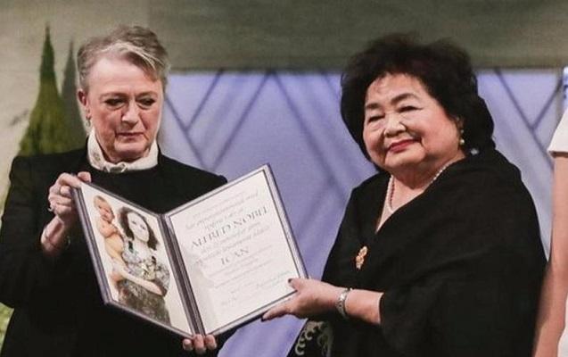 Sülh üzrə Nobel mükafatı təqdim edildi
