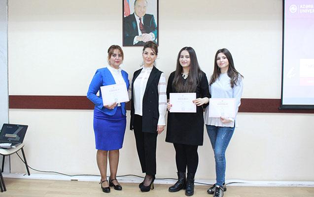 """""""Mənim Universitetim"""" müsabiqəsinin qalibləri mükafatlandırılıb"""